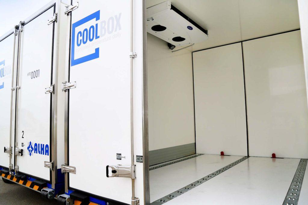 """""""Cool Box"""" Kühltransporter am Fraport"""