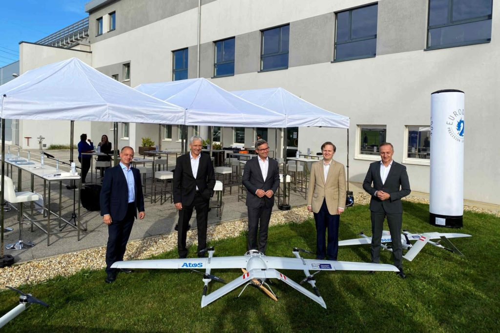 Drohnen auf Langstreckenflug