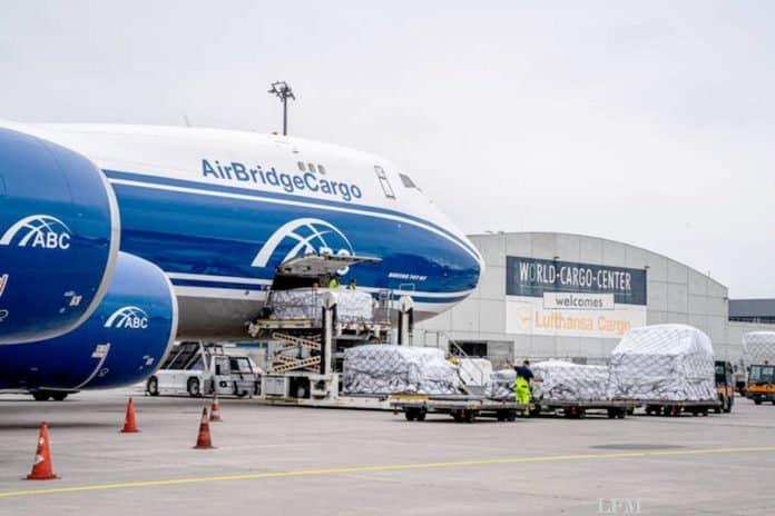 Frachtverkehr am Leipzig/Halle Airport