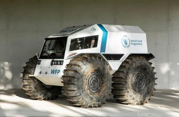 Projekt AHEAD (Autonomous Humanitarian Emergency Aid Devices)