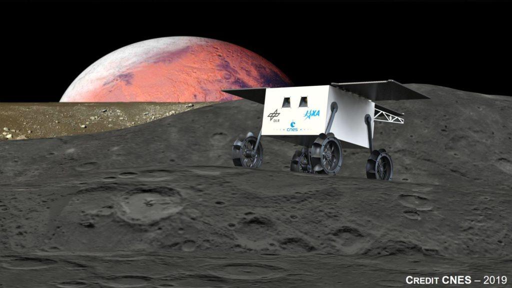 MMX-Rover (Artist View)
