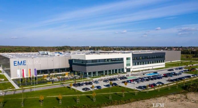 EME Aero Gebäude in Jasionka (Polen)