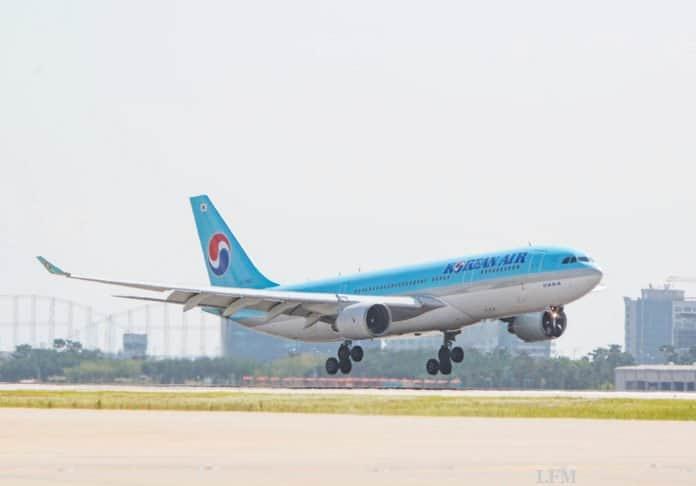 Airbus A330-200 von Korean Air