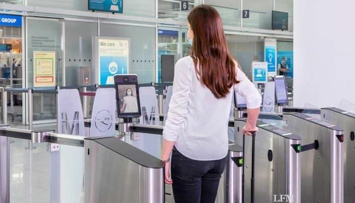 Gesichtserkennung an den Flughäfen München und Frankfurt