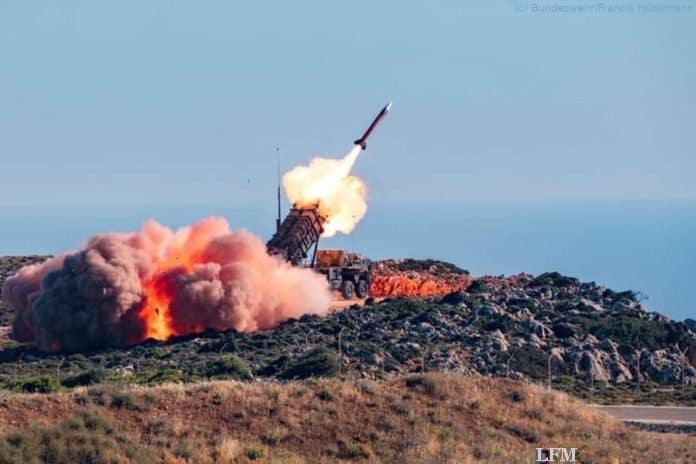 NATO Missile Firing Installation (NAMFI) auf Kreta