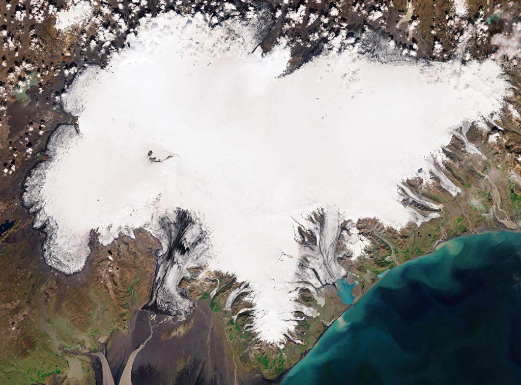 Vatnajökull-Gletscher auf Island