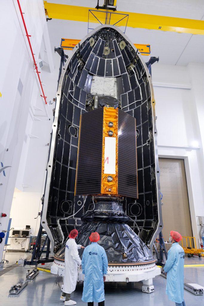 """Integration von Sentinel-6 """"Michael Freilich"""""""
