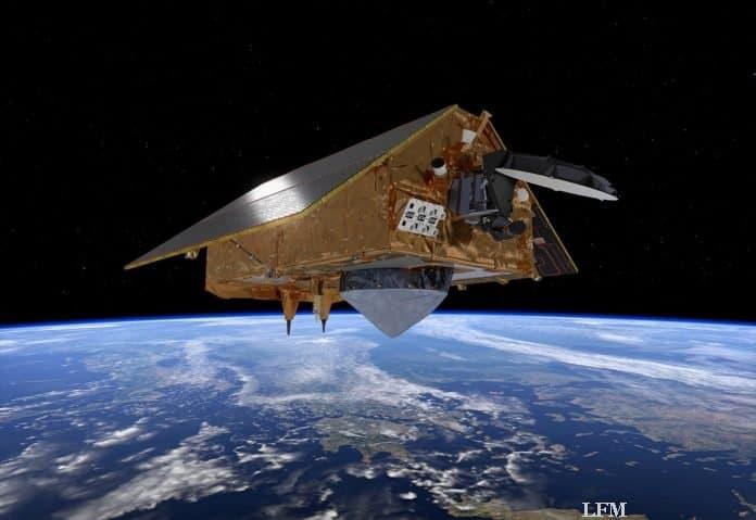 Sentinel-6-Satellit im Orbit