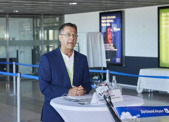 Guntram Pehlke bleibt Aufsichtsratsvorsitzender des Dortmunder Flughafens