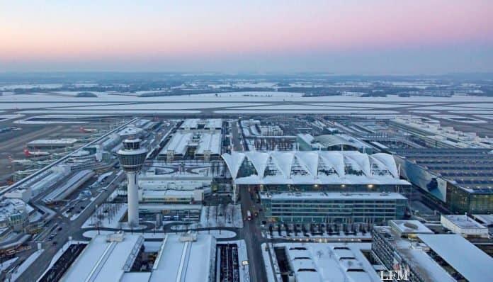 Flughafen München - Luftaufnahme