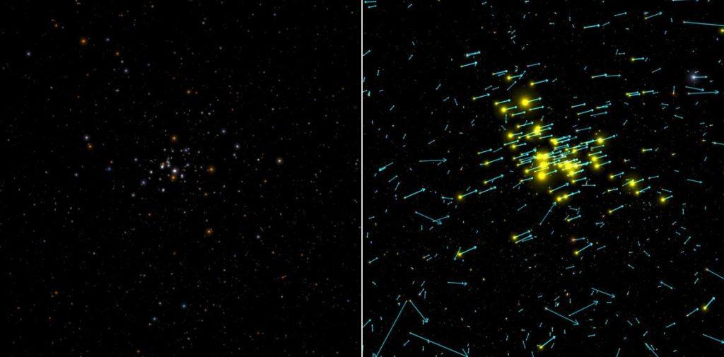 Sternhaufen der Hyaden