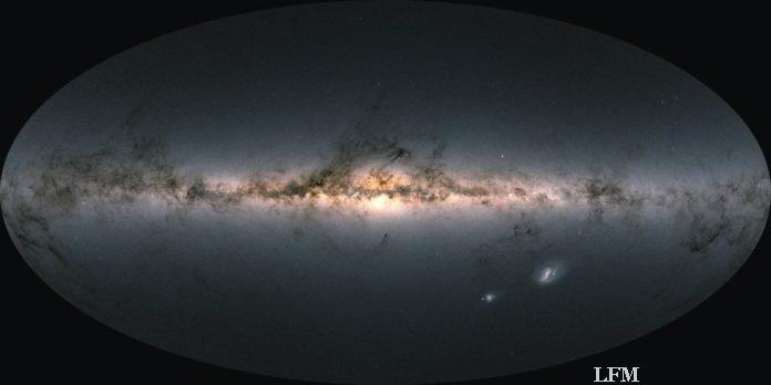 Gaia-Abbildung der Milchstraße