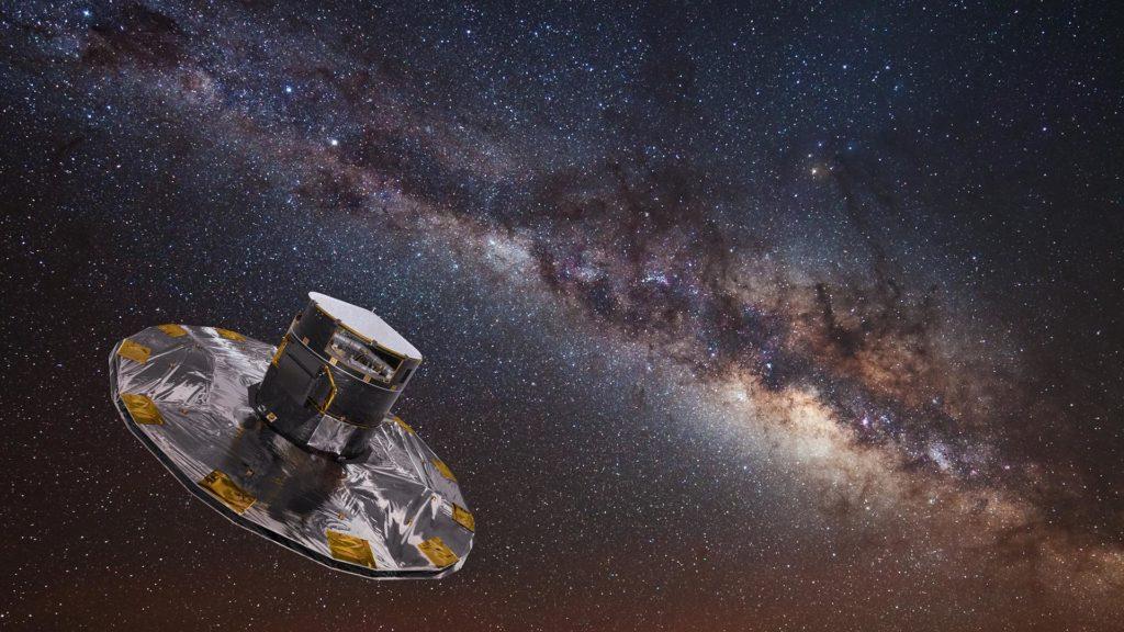 Gaia-Sonde im Weltall