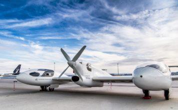 Hy4 Flugzeug mit Wasserstoff-Brennstoffzellen und vier Sitzen