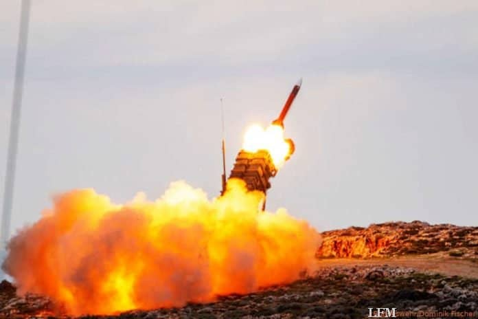 Startgerät des Waffensystems Patriot