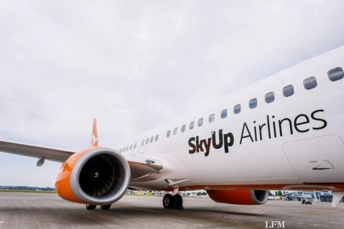 SkyUP-Airlines landet nun auch in Memmingen: Die ukrainische Airline SkyUp verbindet den Allgäu Airport mit Kiew.