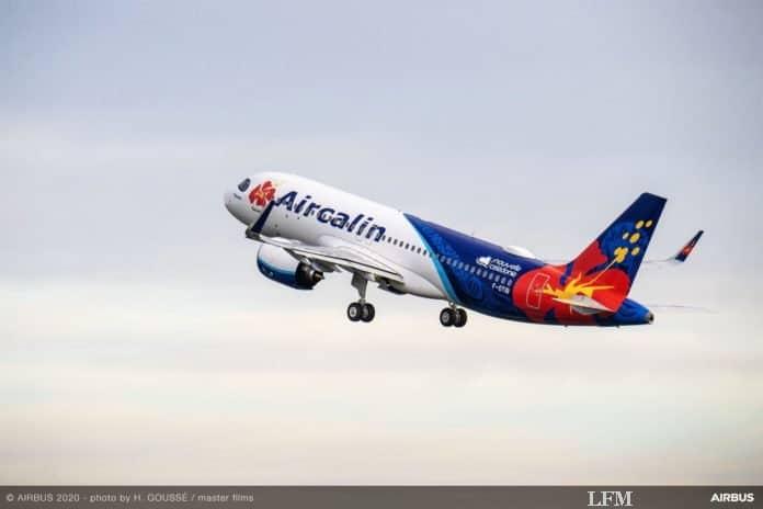 Airbus A320neo von Aircalin