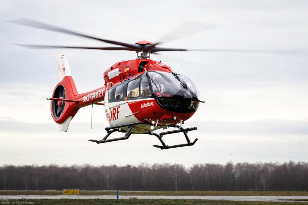 H145 der DFS Deutsche Flugsicherung