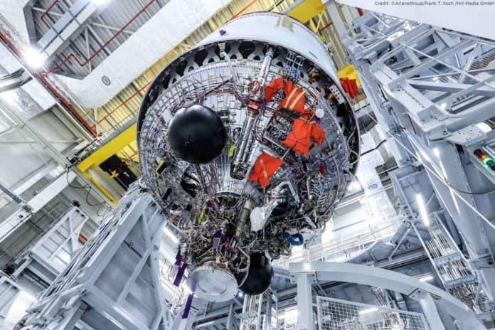 Oberstufe der neuen ESA-Rakete Ariane 6
