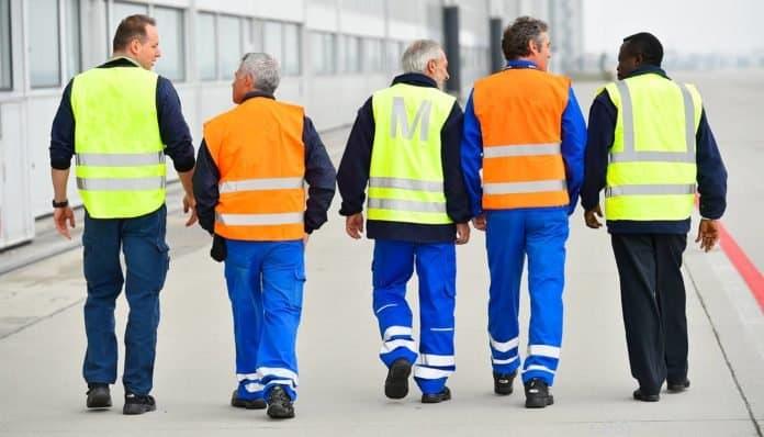 Teamwork bei der AeroGround München