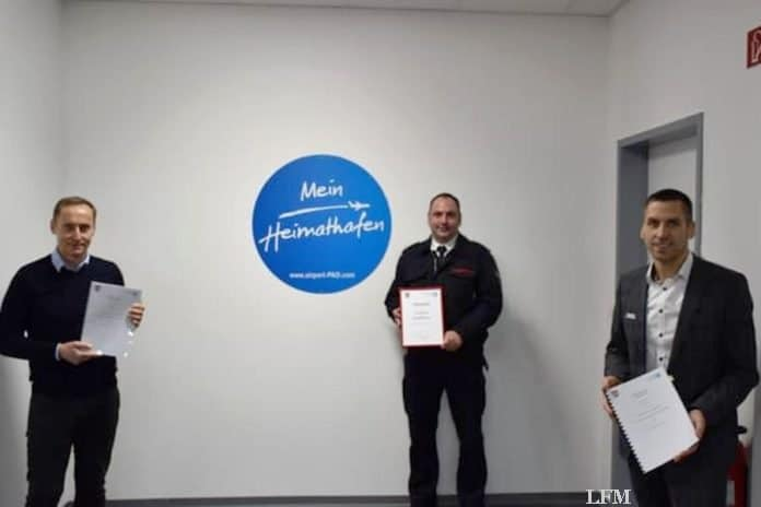 Der Flughafen Paderborn/Lippstadt ist zur Betriebsfeuerwehr NRW ernannt worden.