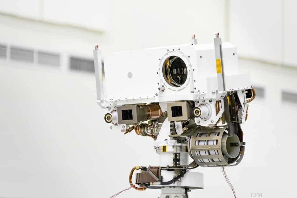 Hochauflösende Zoom-Stereokamera Mastcam-Z