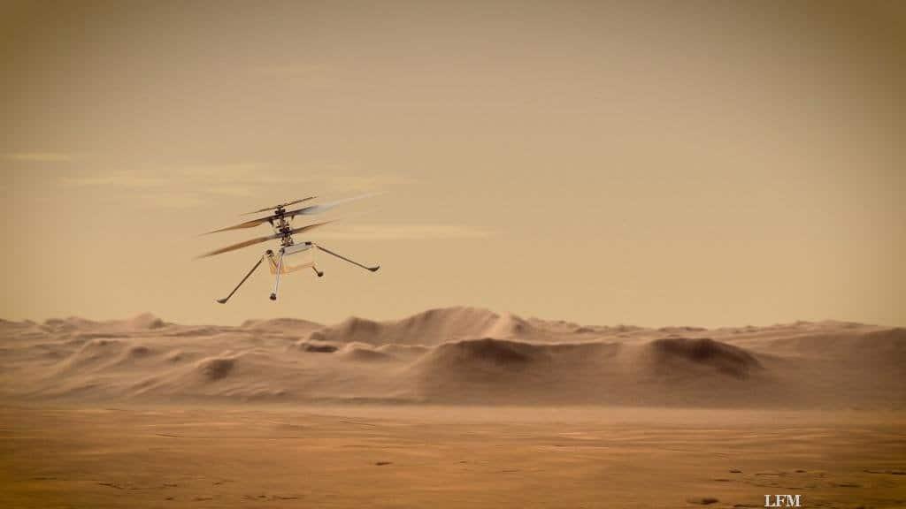 """Mars-Helikopter """"Ingenuity"""""""