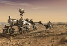 Der Rover Perseverance