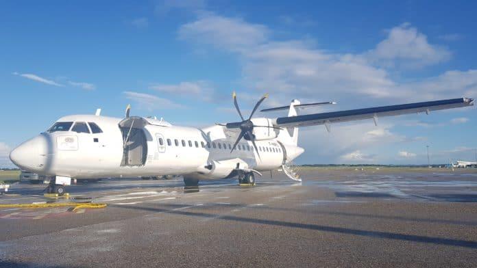 Für die Flüge nutzt Green Airlines ein Flugzeug vom Typ ATR 72-500 der Chalair Aviation mit Platz für 70 Passagiere