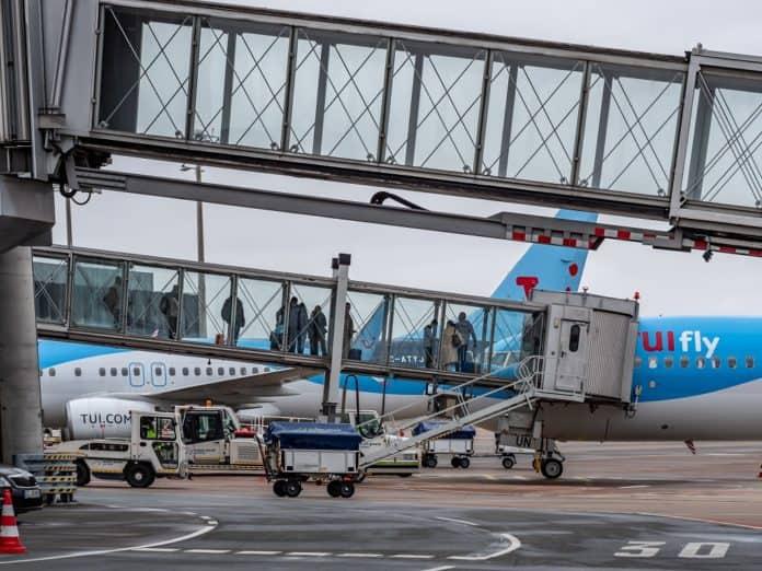 Erstflug TUIfly nach Palma de Mallorca am Hannover Airport