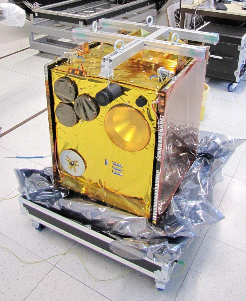 Flying Laptop Satellit der Universität Stuttgart