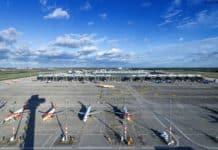 Flughafen BER Vorfeld