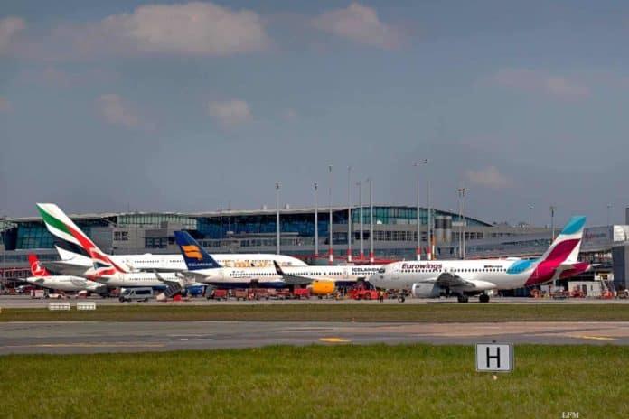 Flughafen Hamburg Apron