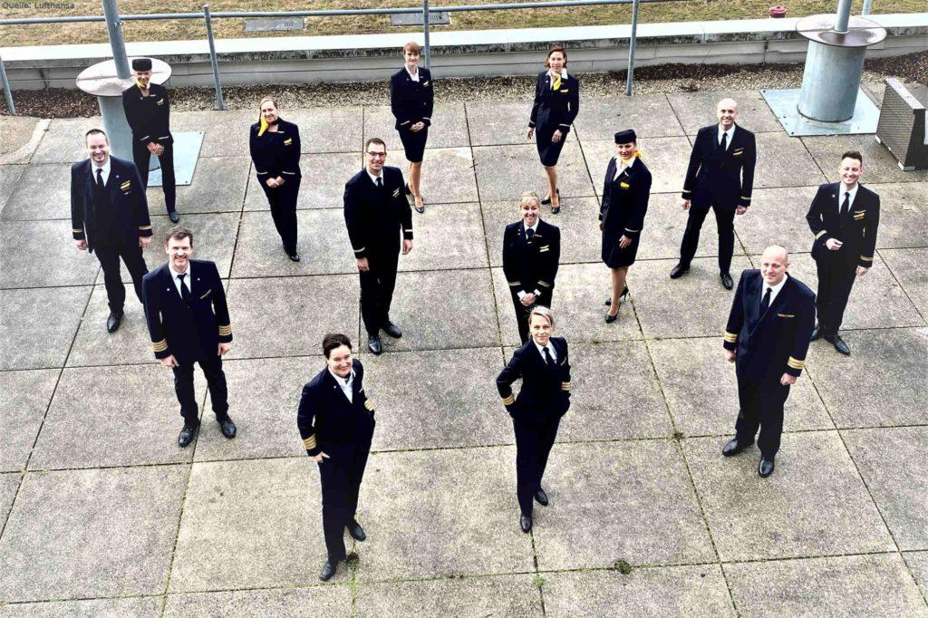Falkland-Flug: Crew des Airbus A350-900