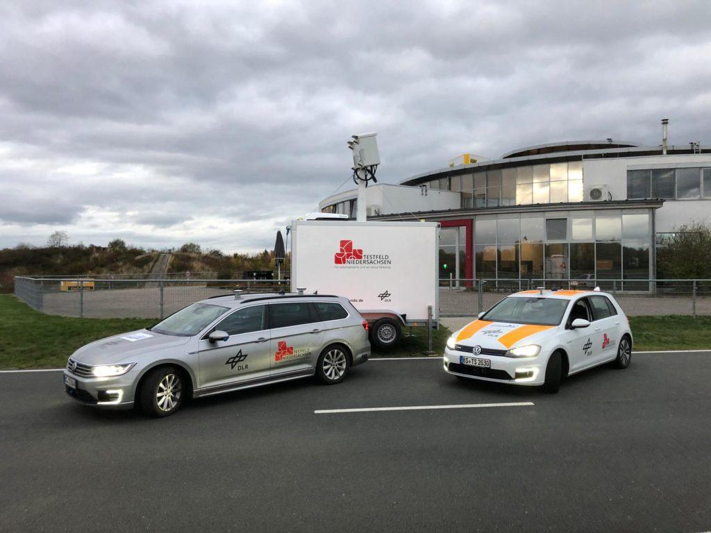 Versuchsfahrzeuge und mobile Sensorik