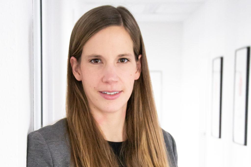 Stellvertretende Vorstandsvorsitzende Anja Bronstert