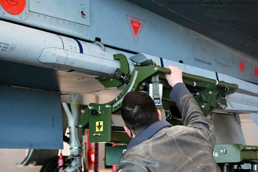 Eurofighter bekommt Softwareupdate für Rakete Meteor