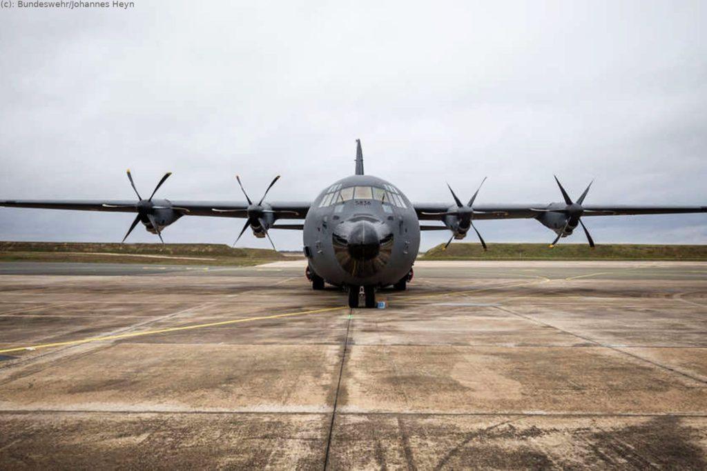 C-130J Hercules am Fliegerhorst Évreux in der Normandie