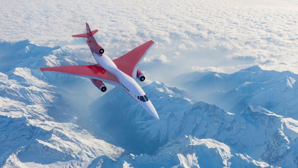 Geplanter Business-Jet von Aerion Supersonic: Das US-amerikanische Unternehmen Aerion entwickelt einen Business-Jet. Der erste Flug des AS2 Modells ist für 2025 angekündigt.