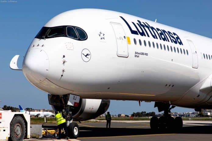 Lufthanssa Airbus A350-900 mit Taufnamen