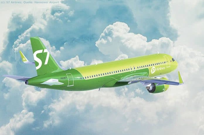 S7 Airlines fliegt Hannover – Moskau
