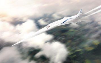 Überschall-Flugzeug der Zukunft: Erster Entwurf eines Business-Jets, der mit Überschallgeschwindigkeit fliegen kann, aus dem SENECA-Projekt.