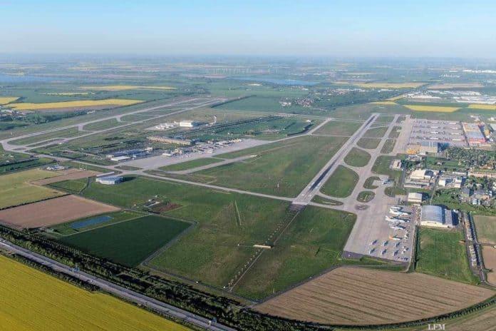 Leipzig/Halle Airport - Luftaufnahme