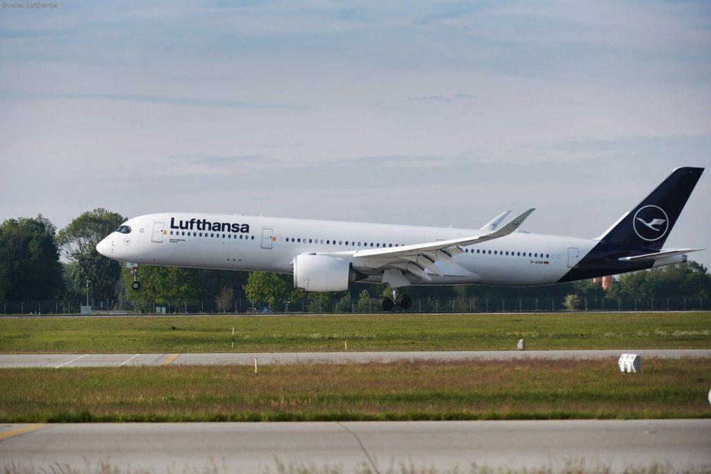Lufthansa Airbus A350 XWB