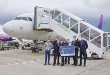 Erstflug nach Marrakesch ab Dortmund Airport, Wizz Air