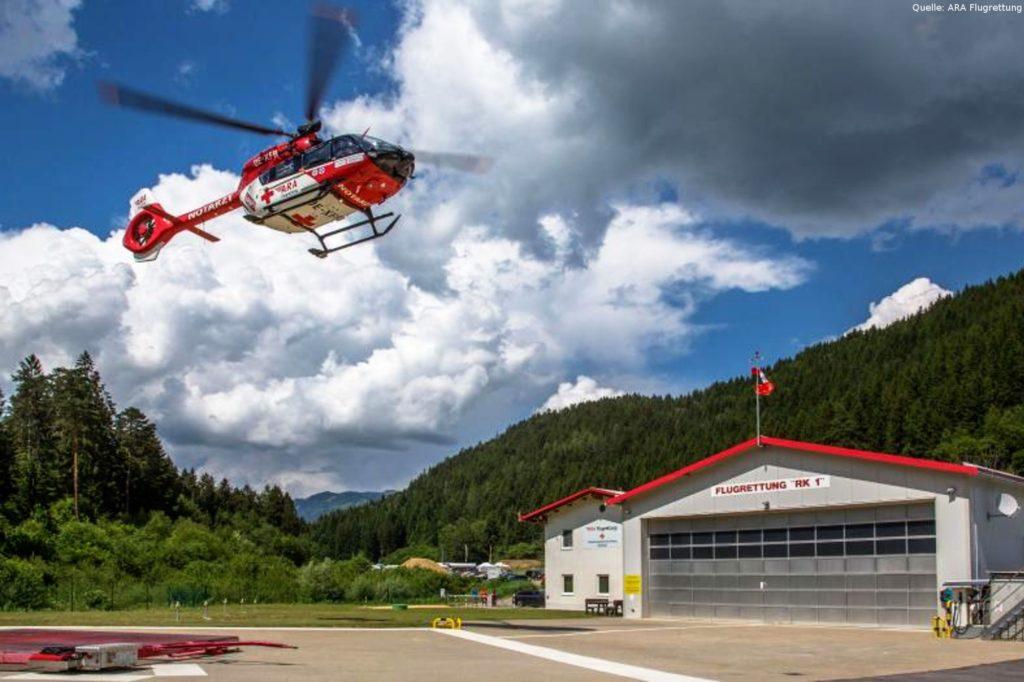 20 Jahre ARA Rettungshubschrauber in Österreich