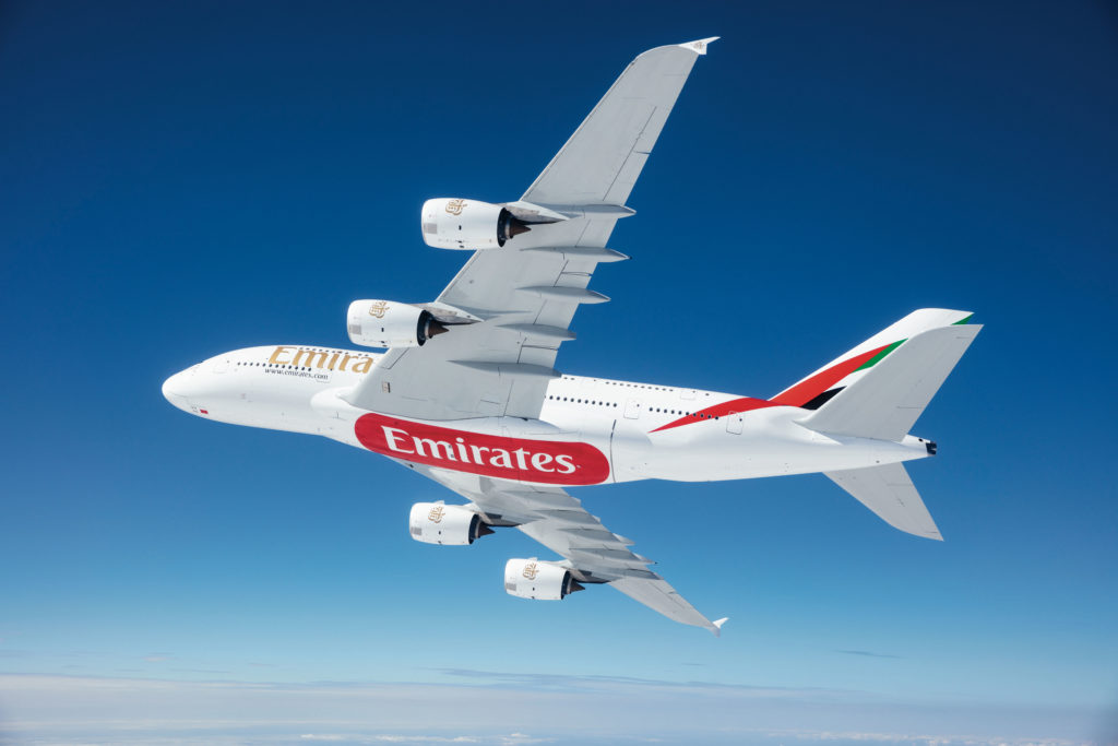 Emirates-Flaggschiff Airbus A380
